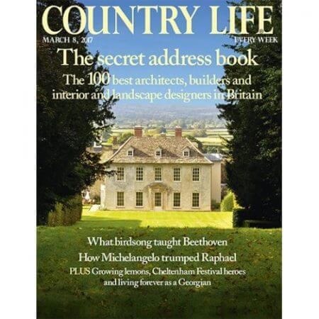 Country Life March 2017 Cover - The Best Interior Designers in Britain
