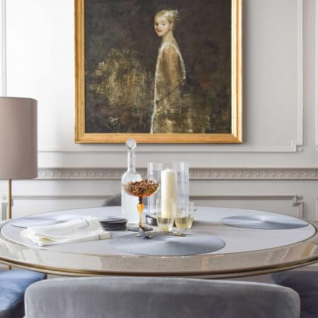 Dining Table Furniture in High End Interiors