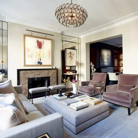 A Knightsbridge apartment living room