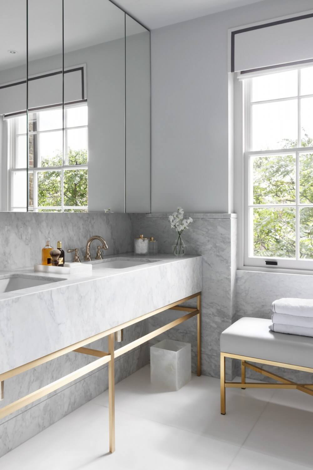 Janine Stone Contemporary Bathroom Design London Belgravia