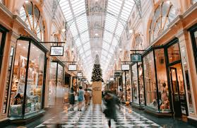luxury shopping london arcade