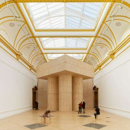 The Royal Academy Sensing Spaces Exhibition