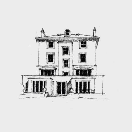 Prime Central London Townhouse Sketch