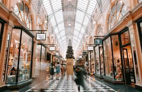 luxury shopping london arcade