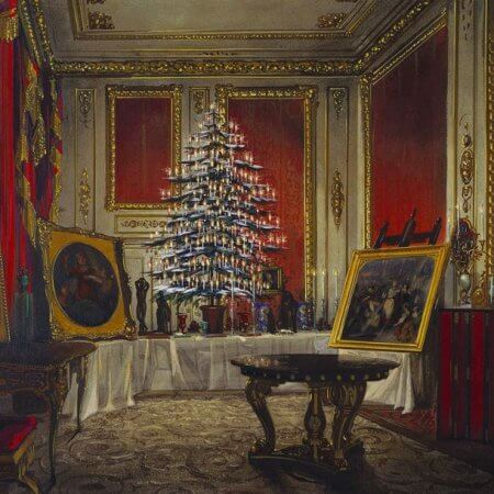 The Queen's Christmas Tree at Windsor Castle | by irinaraquel
