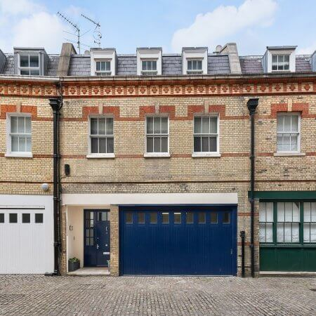 Grisvenor Crescent Mews House Janine Stone