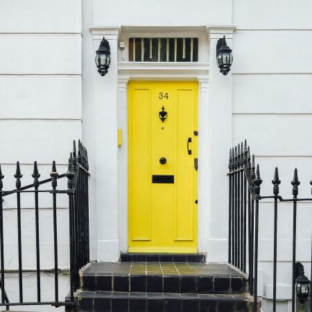 London property door