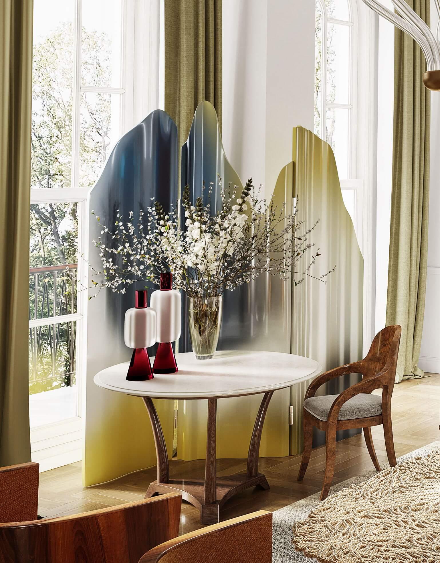 Janine Stone Dining Room Design